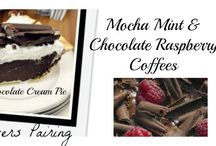 Holiday Coffee & Wine Pairings / Wow your guests with amazing coffee, tea and wine pairings for your Holiday festivities