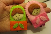 Felt Craft / Felt craft for gift and collection. Handmade with love.