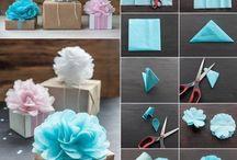 Emballage cadeaux naissance