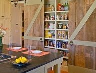 Cupboards/Storage Ideas / by Kimberly Berry
