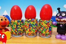 アンパンマン たまご❤アンパンマンおもちゃアニメ キャラクター エピソード34 Surprise Eggs Toy Kids トイキッズ animation anpanman