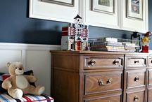 Boy bedroom ideas / Tween and teen boy bedroom decorating ideas