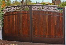 Gates, Fences, Rv / We can help you with iron fences.  Electronic fences, RV fences.  Give us a call to see what we offer.  A1 Garage Door Service.  480-898-3667