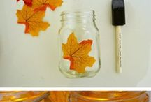 Autumn deco DIY
