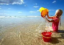 Kids Fun / What a place to bring your children. Straddie is so very kid friendly offering the perfect place to give yourself a break as well as keep the children entertained