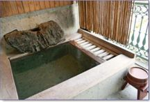 Japanese bathing ritual