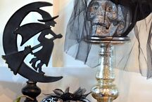 Halloween Decor / DIY home decor ideas for the spookiest month of the year. October | Halloween