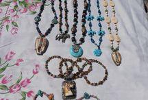 collane con componenti tibetani