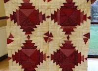 Red &White Quilts / Two color quilts and more!