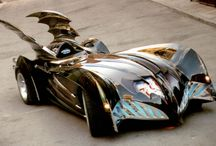Batmobiles / A board dedicated to batman's cars