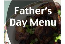 Happy Father's Day / Special menus to wish Dad a happy Father's Day