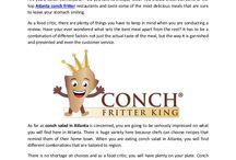 Conch Fritter King Atlanta