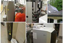 Pelletsheizung - mit Solaranlage / Ökologische Heizsysteme