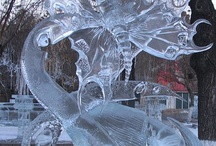 Ice and snow art