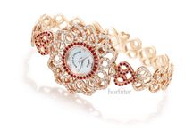 BACKES AND STRAUSS LONDON / The Victoria Princess Red Heart Watch for Only Watch 2013