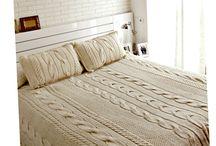 Cubre camas tejidos