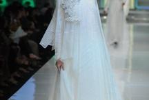 syar'i wedding gown