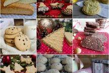 dolci per le feste (natale,pasqua)croccante di mandorle / calzoni e zeppole di S.Giuseppe