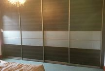 Sliding Bedrooms / Customers completed sliding bedrooms