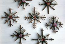 Navidad que inspira... / Inspiración para tejer, coser y realizar objetos navideños. Tutoriales, esquemas y patrones.