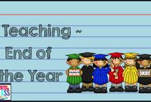 End of Year Ideas {Gr.3-5} / Great ideas and materials to use at the end of the school year!
