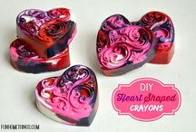 Valentine's Day Crafts and Decor / Valentine's Day crafts and DIY