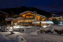 Chalet Makini in Verbier / Check out the magnificent ski-in/ski-out Alpine home, which boasts an impressive private spa facility located 100m from the main building housing a pool, sauna, gym, Jacuzzi and massage room.  http://www.ultimateluxurychalets.com/luxury-chalet-makini-verbier