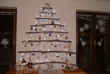 Vánoční ozdoby - šité