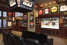 Man Caves / by SportsLogos.Net Chris Creamer