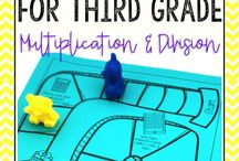 Math - Division / Division strategies, resources, and ideas to help students learn division.