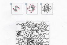 Zen tangle patterns / by Audrey Kerchner Studios