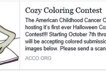 2015 Cozy Cat Coloring Contest / 2015 Cozy Cat Coloring Contest