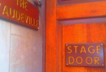 London Stage Doors / Coming to London on a theatre break? You probably only see the front entrance to most theatres... so here are the stage doors: the business end to the buildings, through which the cast and crew enter to provide us with our entertainment.