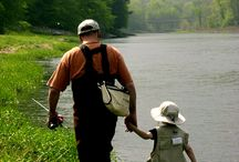 Fly Fishing with kids
