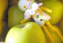 My hand made dolls & toys / http://naiveneedle.blogspot.com/ / by Nany Naiveneedle