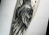 Rabe tattoo