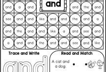 Kindergarten language