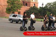 Segway Tour tickets Rajpath / Segway Tour      Secretariats     Rashtrapati Bhavan     Parliament     Various scenic beauty surrounding the Ministry buildings on Rajpath     Amar Jawan Jyoti     India Gate