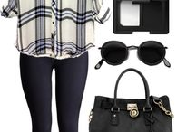 Outfits ideas for trips / I have chosen these outfits for school trips.:)
