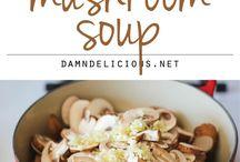 Cream of Mushroom Sopa
