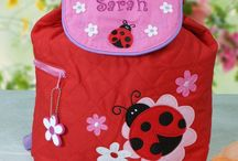 Personalized Backpacks and Bags / Get your little one ready to go anytime with his/her own Personalized Backpack. Just the right size for school, outdoor activities or a sleepover with Grandma. Check out our product review: http://www.milehighmom.com/cool-personalized-backpack/
