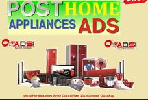 Post Free Home Appliances Ads
