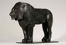 Lion Sculptures