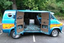 Vans & Rides / Inspiration for custom vans / by Andres Torres