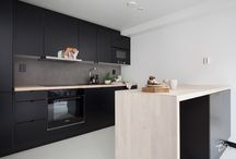 INSPIRATION: Black kitchen