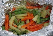 papelotes  de legumes