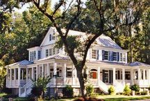 Our Farmhouse-exterior / by Rosie |TacomaMomBlog