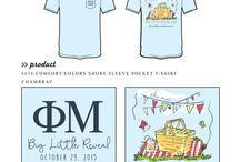 Big Sis/Lil Sis / Greek sorority and fraternity custom shirt designs featuring big sis lil sis themes. For more information on screen printing or to get a proof for your next shirt order, visit www.jcgapparel.com
