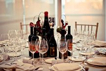 Wine Table Setting