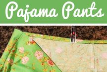 how to sew pajama pants